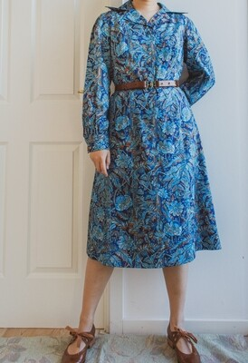 Beautiful dark blue dress L/XL