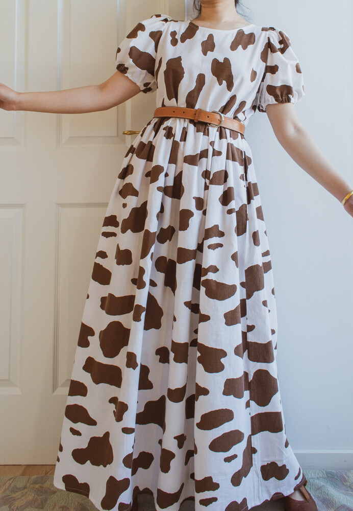 Remade Elisabeth in cow print S/XS