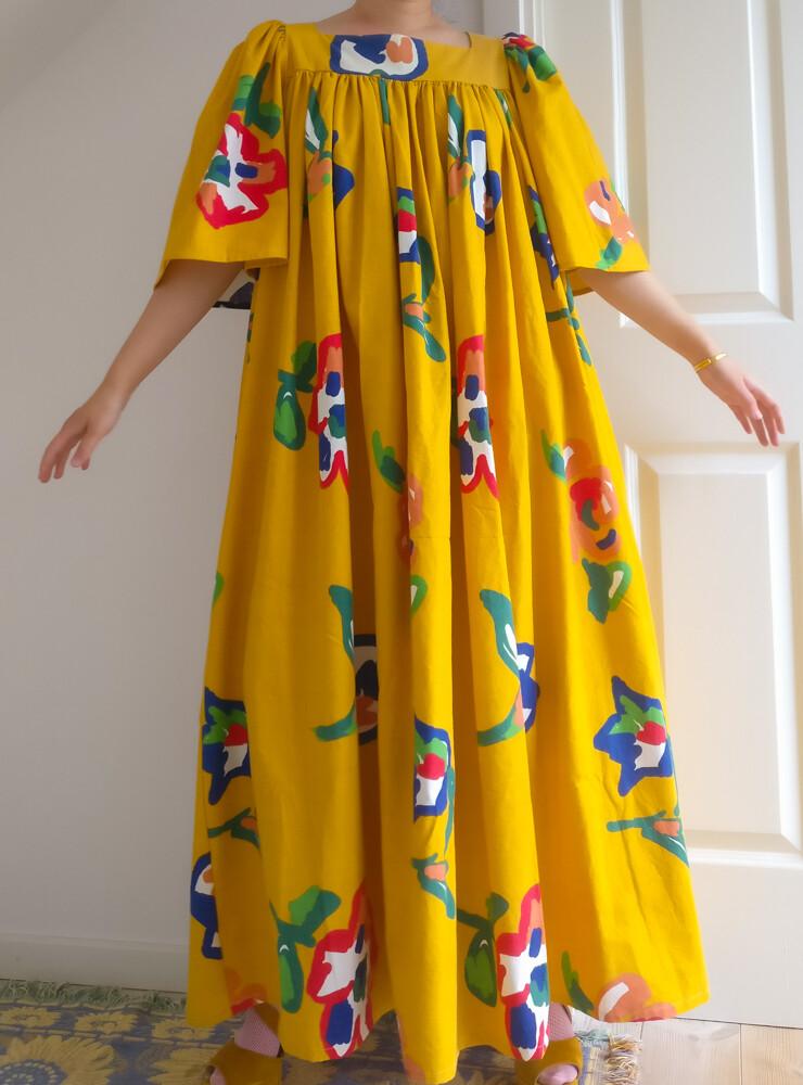 INTRO: Gerda Dress Maxi