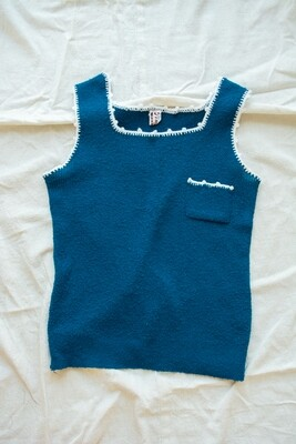 Italian knit vest S/M