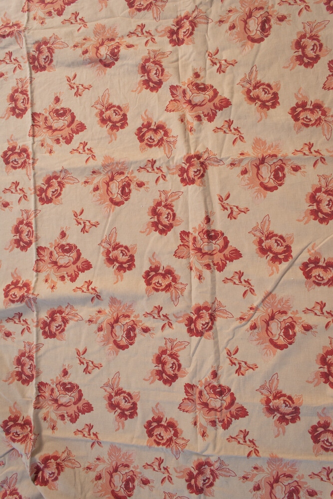 Remade-to-order dusty rose fabric