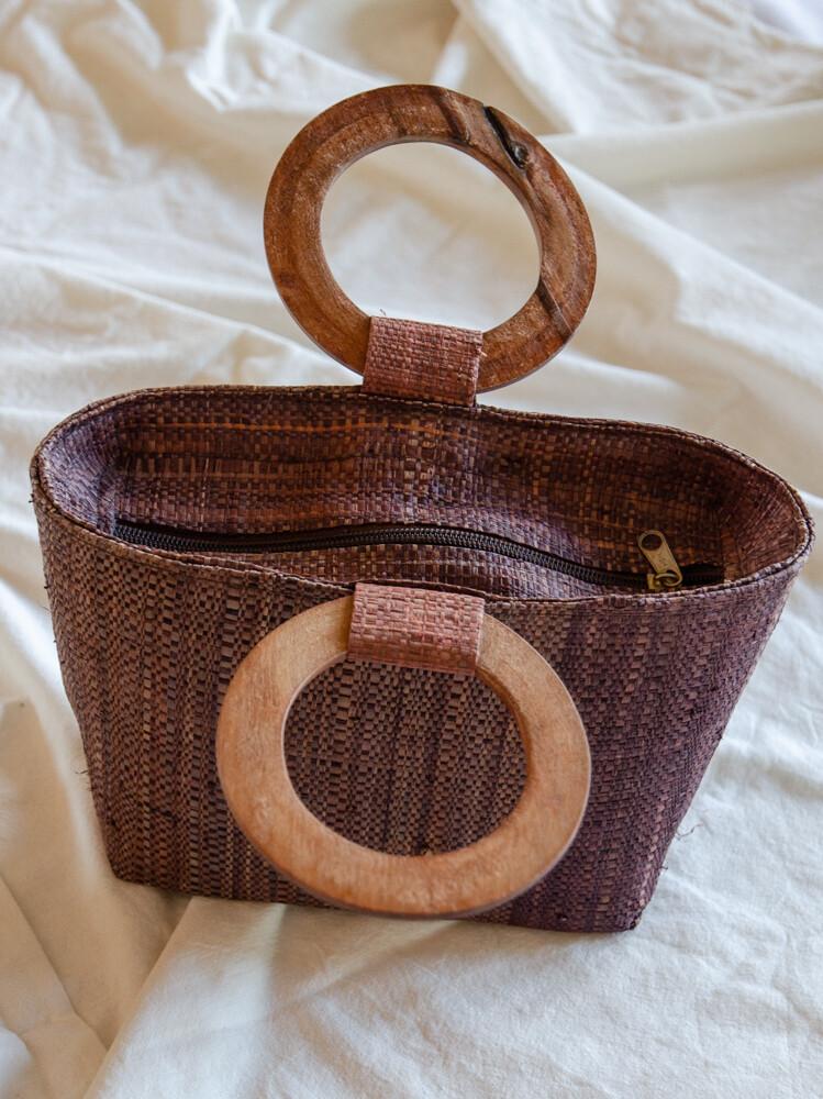 Cute mini brown bag