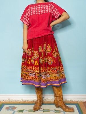 Guatemala cotton blouse M/L