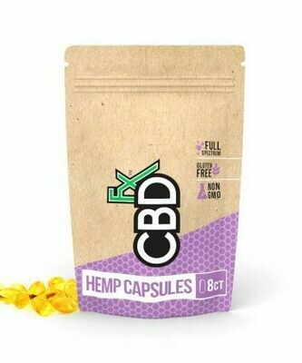 Soft Gel CBD Capsules Pouch (8 pieces) - Body & Mind