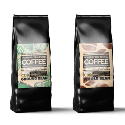 Equilibrium CBD Infused Coffee - 100g (100mg CBD)
