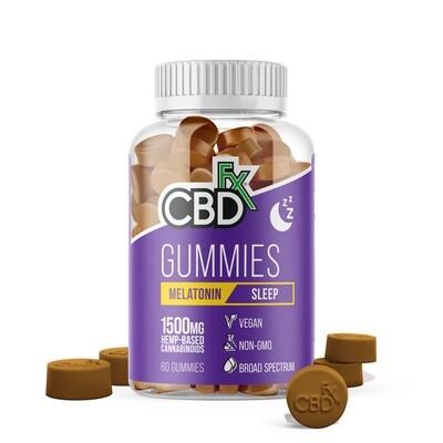 CBD Gummies for Sleep with Melatonin 1500mg (jar of 60)