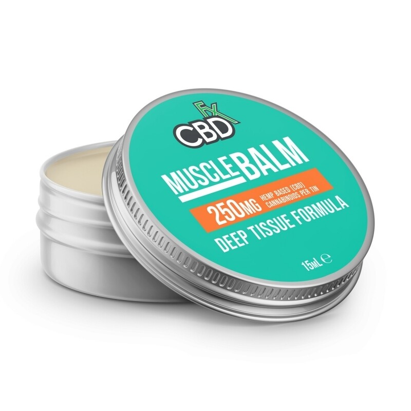 CBDfx Muscle Balm 250mg (15ml)