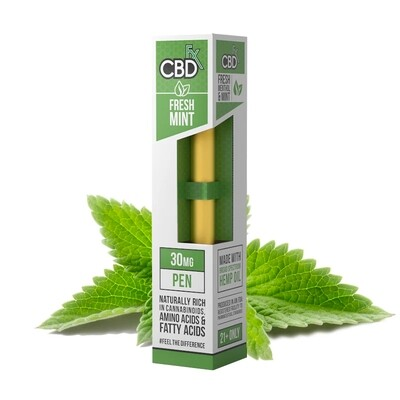 Fresh Mint CBD Vape Pen 30mg