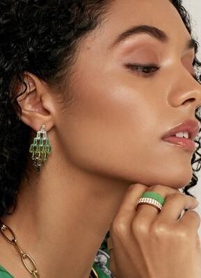 Baguette Ombre earrings