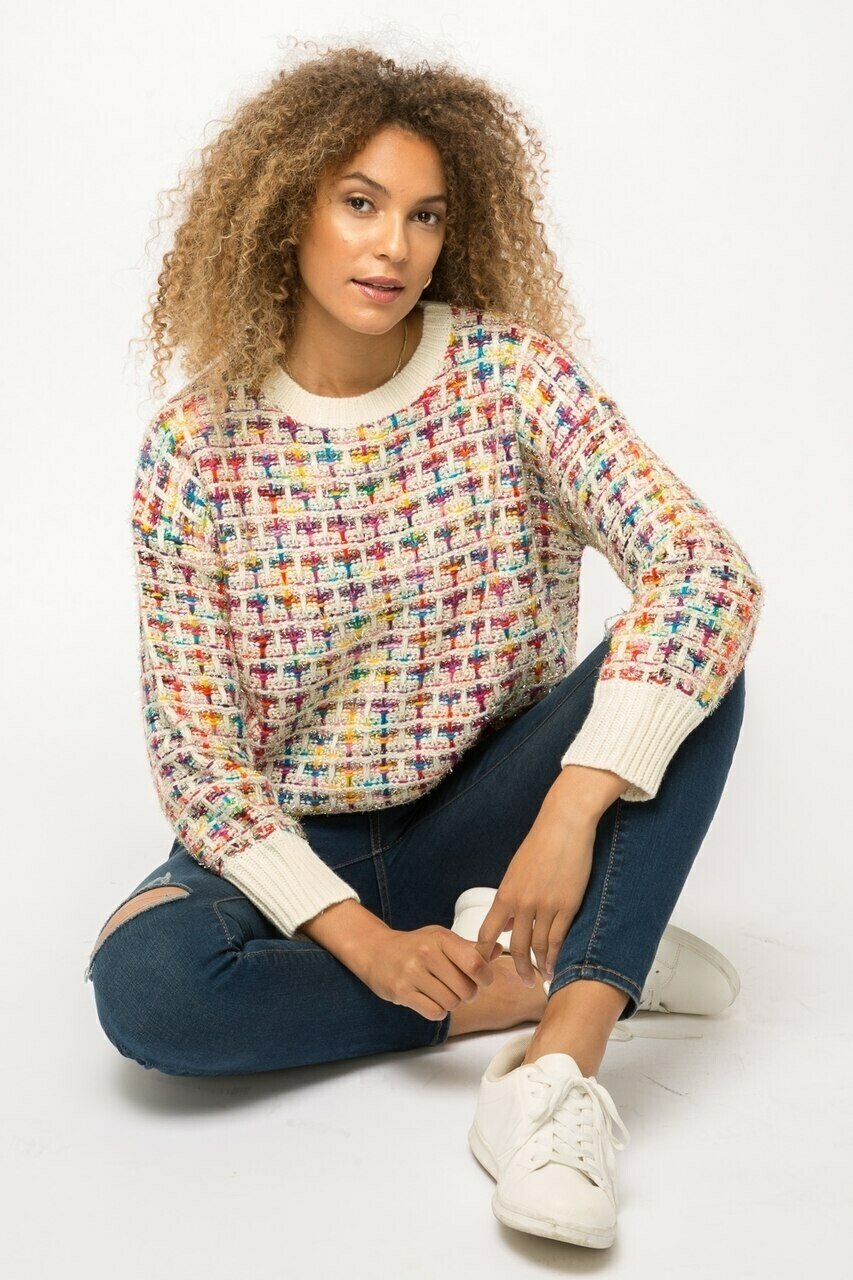 Kolors tweed sweater