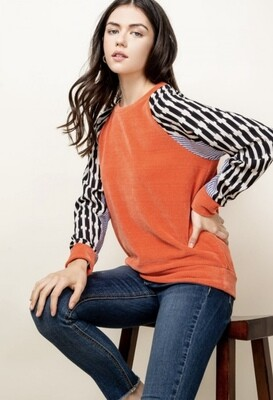 HUDSON RAGLAN SWEATER