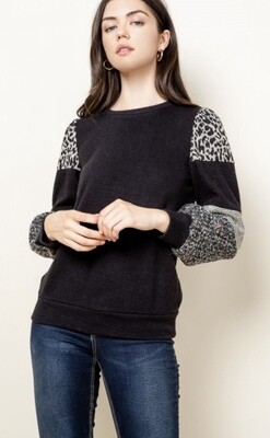 MIXED CONTRAST SWEATER