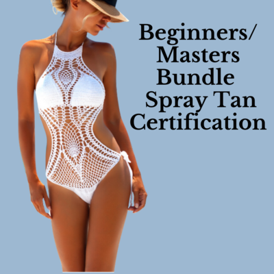 Perfecting The Art of Spray Tanning Certification Course (In Person)