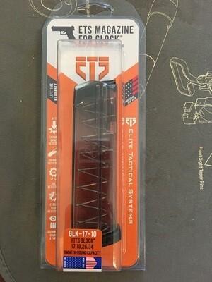 ETS GLK-17-10 9mm, 10RD Magazine