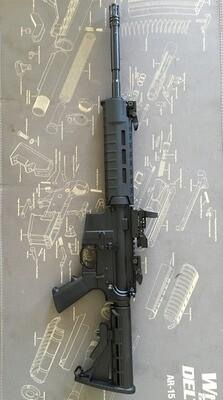 AR-15 Custom Built Rifle CA Compliant