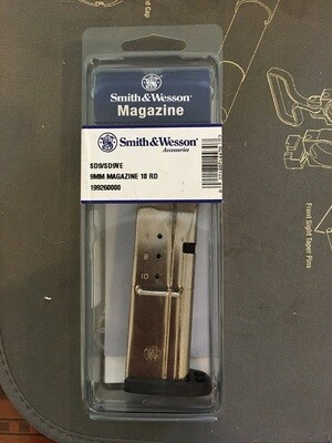 Smith & Wesson  9mm, 10RD Magazine