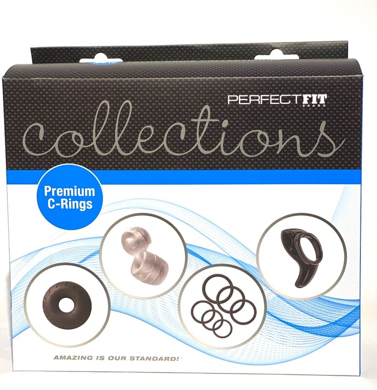 Perfect Fit Collections Premium C-Rings Assorted Cockrings Set