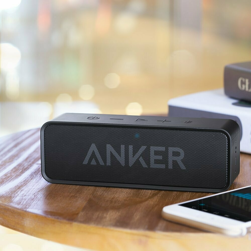 Anker Soundcore 1 Bluetooth Speaker with Carrying and Protector case.