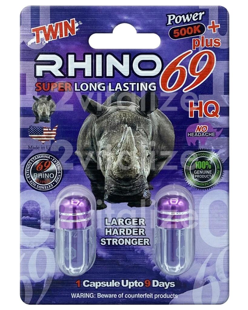 Rhino Platinum 600k (dual pack Capsule)
