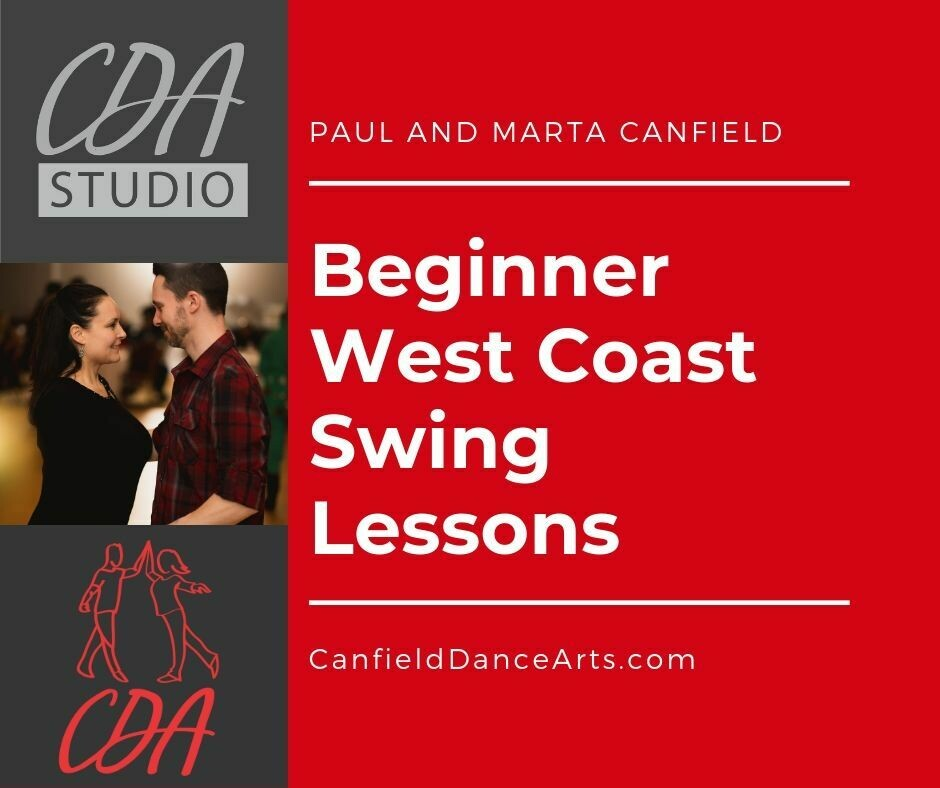 Beginner West Coast Swing Lessons - March 2020