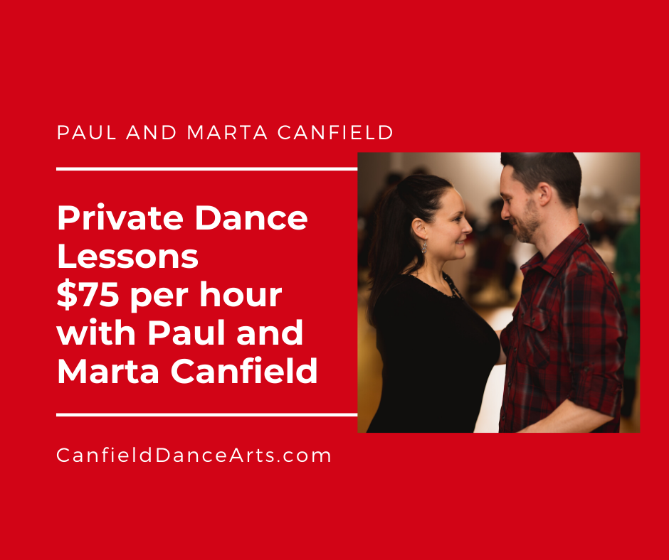 Private Dance Lessons $75 (cash or check)