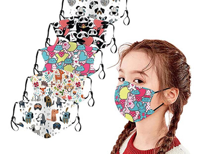 Kids Adjustable Mask Sets