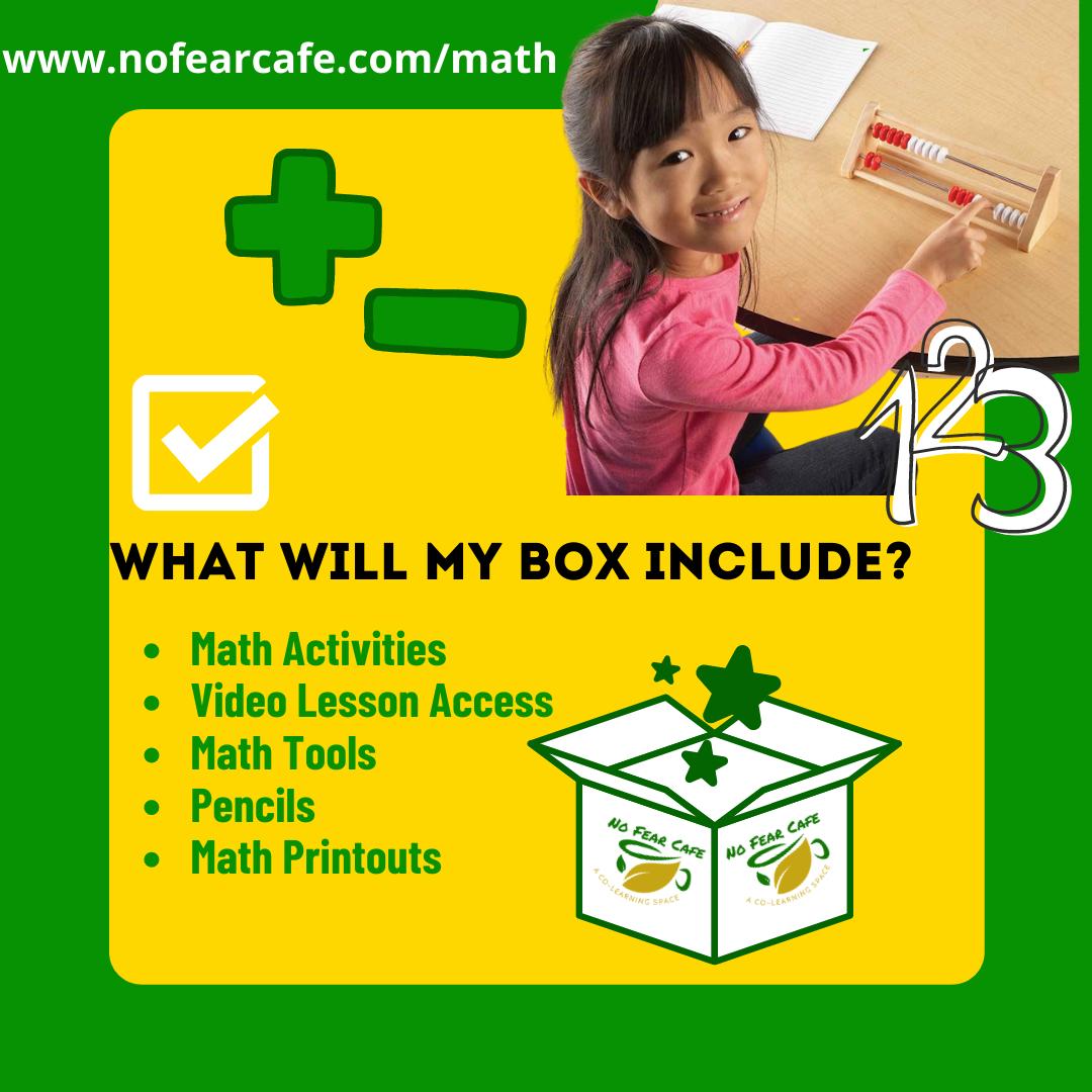 Math Box - No Fear Cafe