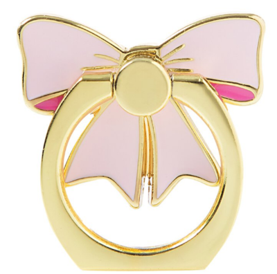Pink Cell Phone Ring Bow