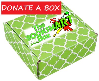 The BooksmART - DONATE BOXES!