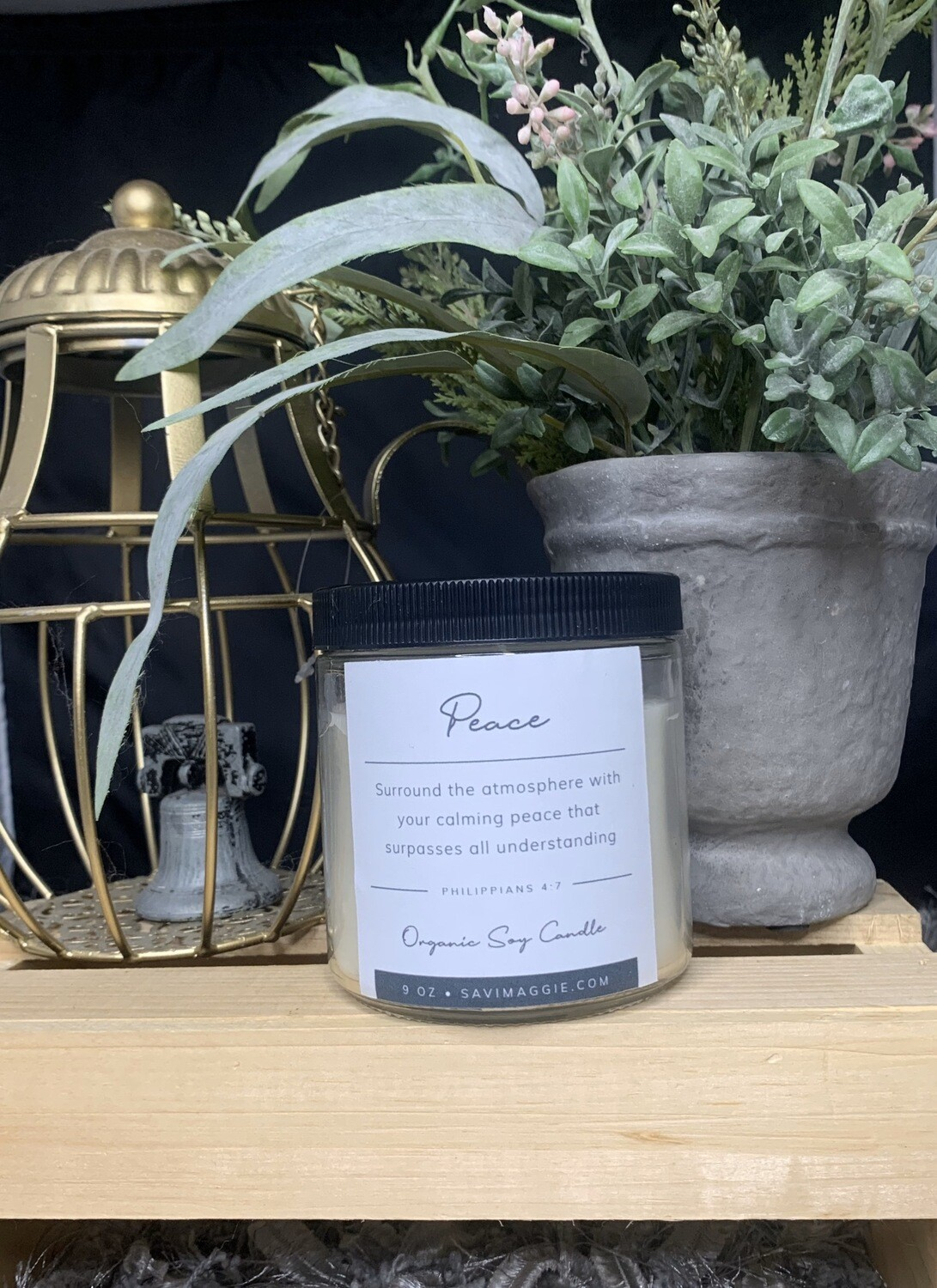 Powerful  Peace  Candle 16 oz.