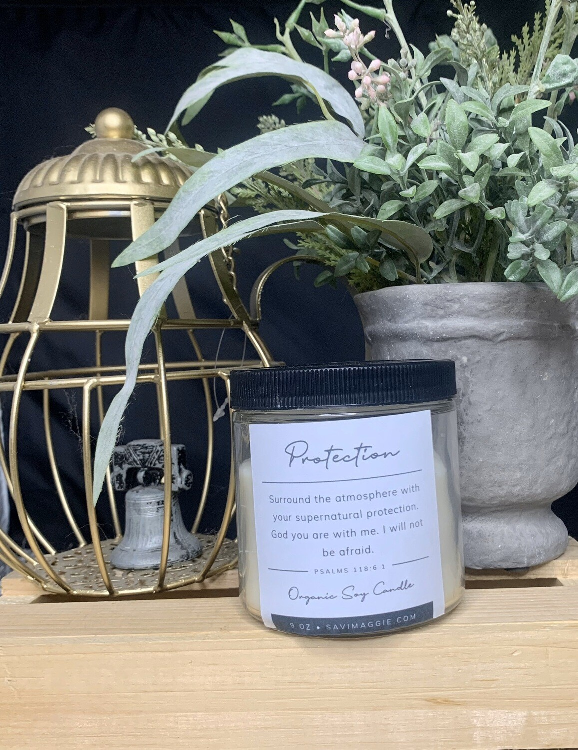 Powerful Protection Prayer Candle 16 oz.