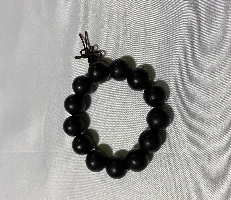 Buddha Beads - Large Black