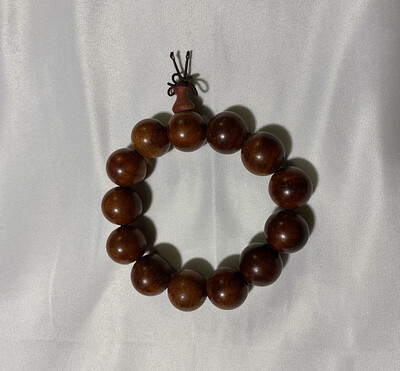 Buddha Beads - Large Brown