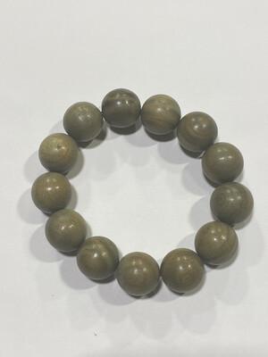 Buddha Beads - 1.5cm Marble Wood