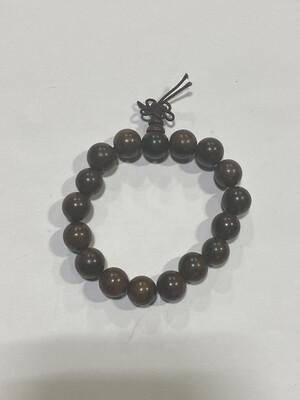 Buddha Beads - .5cm Brown