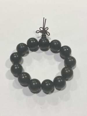 Buddha Beads - 1.5cm Black Brown