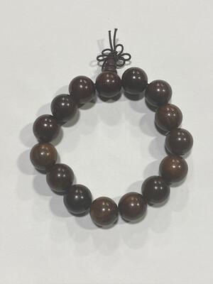Buddha Beads - 1cm Brown