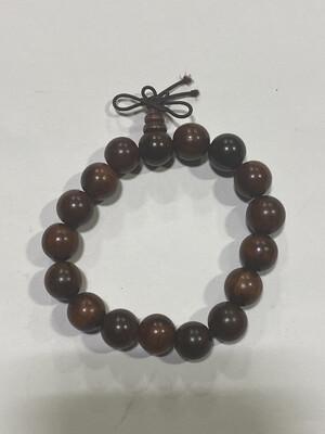Buddha Beads - .5cm Red Wood