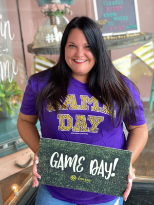Game Day- Purple