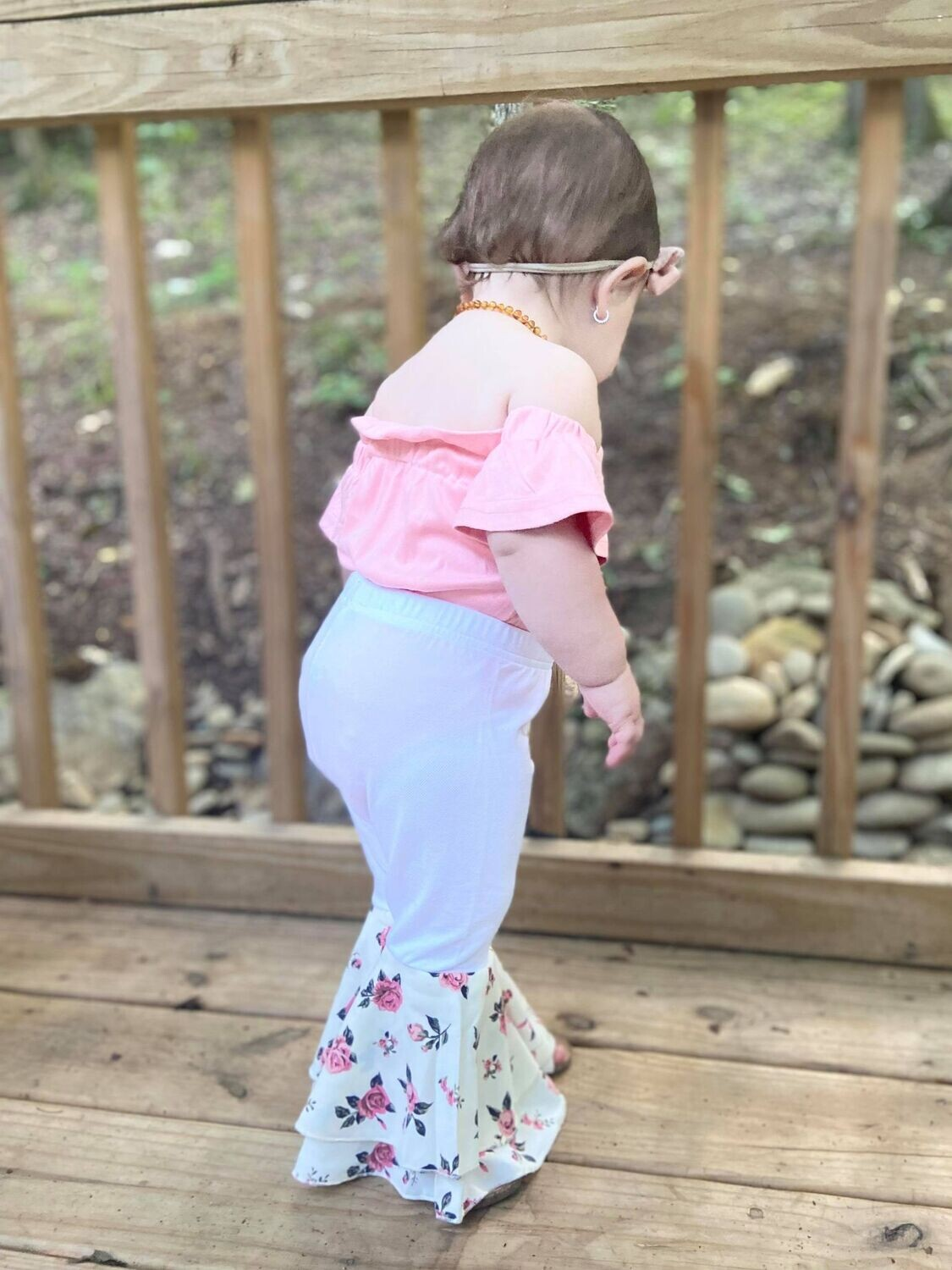 301 Floral Bell Bottoms