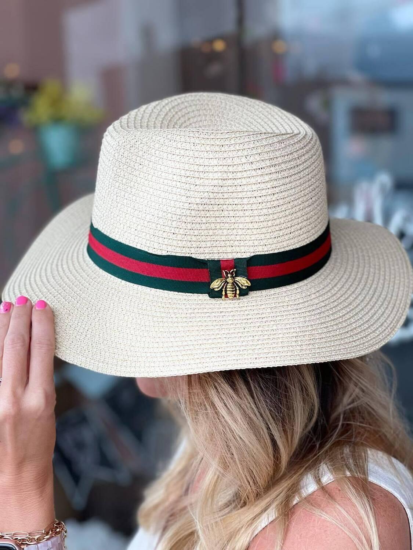25053 Bee Straw Hat