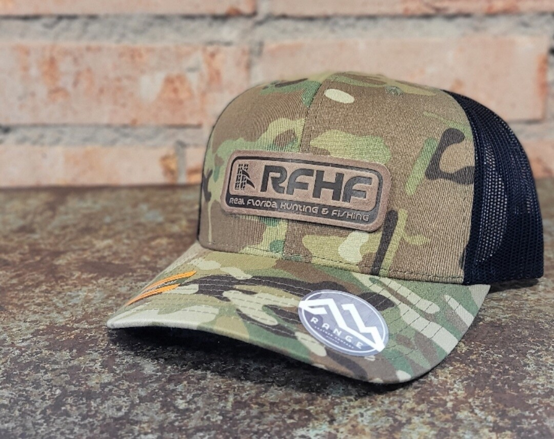 Limbhanger genuine leather patch hat