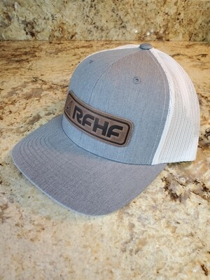 Redfish leather patch/ heather grey /white