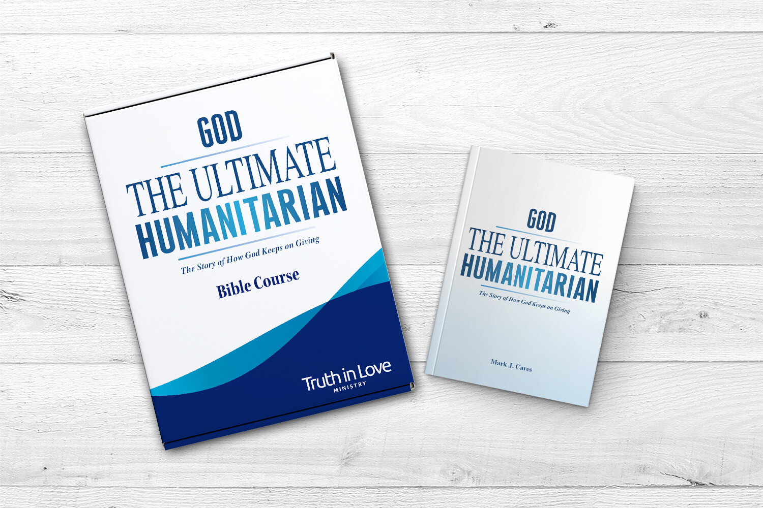 God - The Ultimate Humanitarian Bible Course Kit