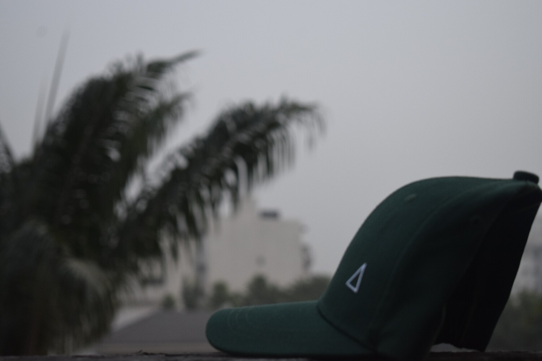 Green Crown Cap