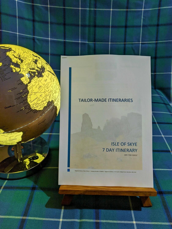 The Isle of Skye - 7 Day Itinerary - Hard Copy