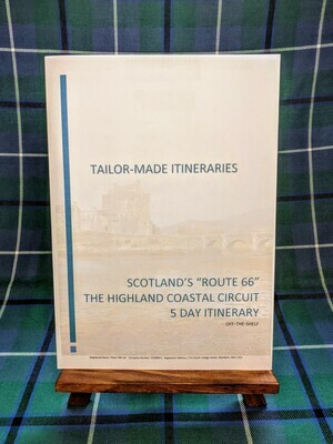 """Scotland's """"Route 66"""" - 5 Day Itinerary - Hard Copy"""