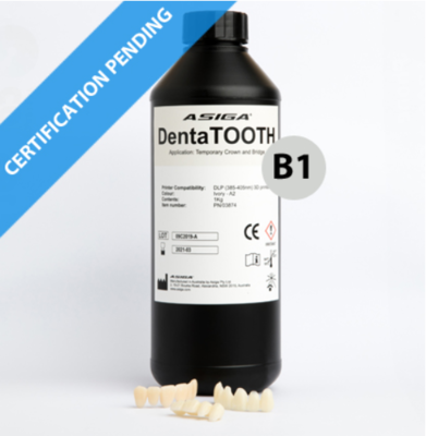 Asiga DentaTOOTH B1  1Kg