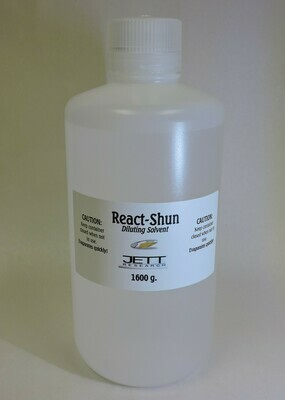 React-Shun Solvent 1600 Grams