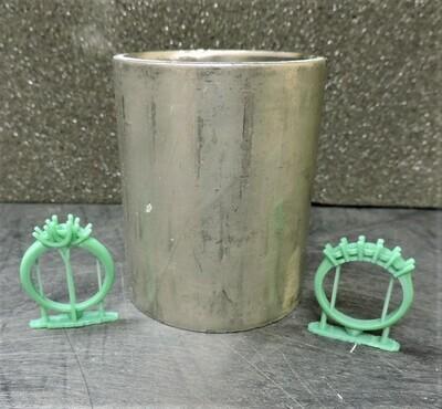 2 D X 2.5 inch HT Flasks